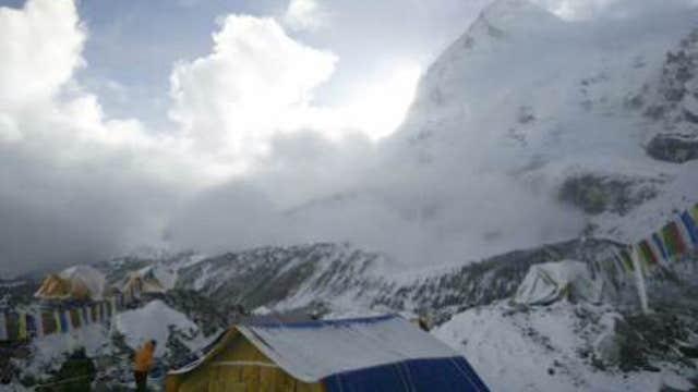 Mount Everest climber on Nepal quake, Everest avalanche