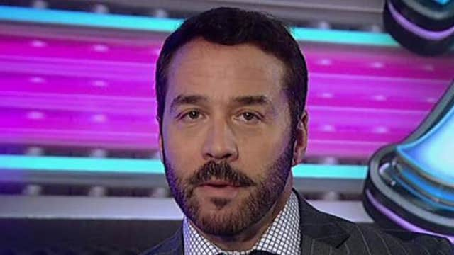 Entourage's Hollywood Agent 'Ari Gold' (played by Jeremy Piven) discusses his new book 'The Gold Standard.'