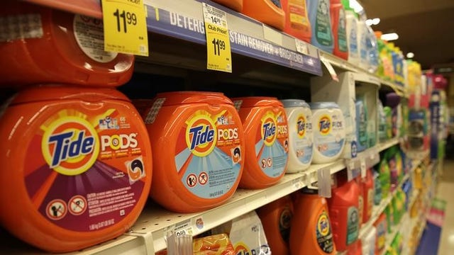 Thousands of children poisoned by laundry detergent pods