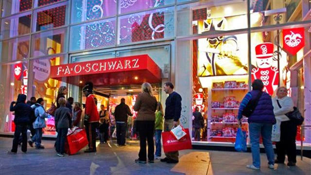FAO Schwarz makes a comeback three years after it closed