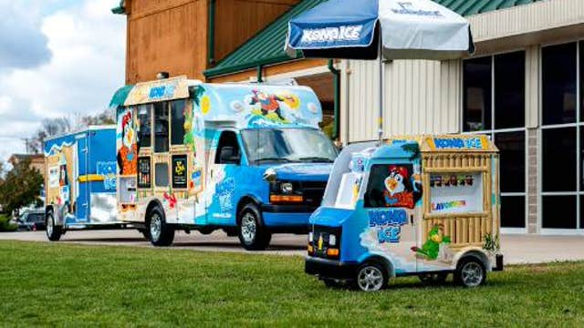 FBN's Charles Payne on Kona Ice founder and president Tony Lamb's success in the mobile shaved ice business.