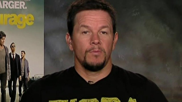 Mark Wahlberg on the movie version of the hit HBO series 'Entourage.'