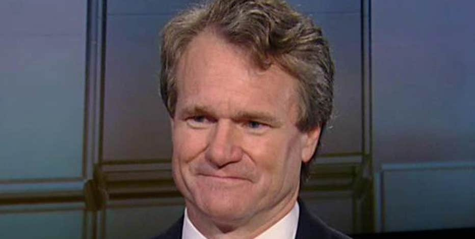 Bank of America Chairman and CEO Brian Moynihan on the company's first-quarter results, corporate growth and interest rates.