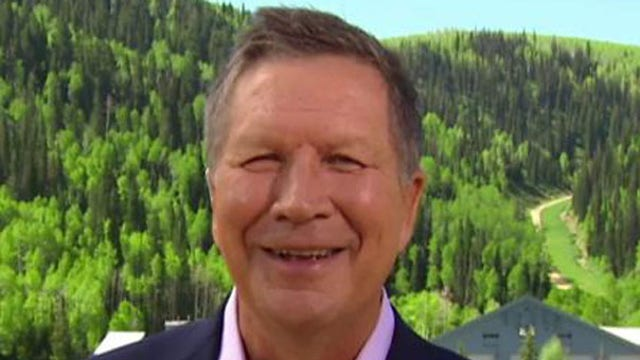 Gov. John Kasich, (R-Ohio), argues trade is a national security issue and is good for the economy -- and answers to whether he will run for president in 2016.