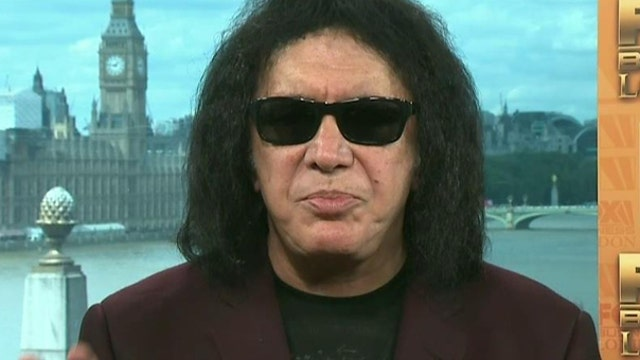 Kiss co-founder Gene Simmons on the markets, economy, government debt and the 2016 election.