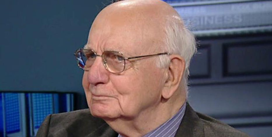 Former Federal Reserve Chairman Paul Volcker discusses how states are handling their budgets when it comes to pensions.