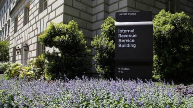 IRS erasing evidence during probe?