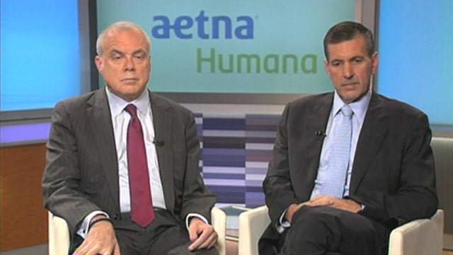 Aetna CEO Mark Bertolini and Humana CEO Bruce Broussard on the merger deal, consolidation in the health-care sector and the impact of ObamaCare.