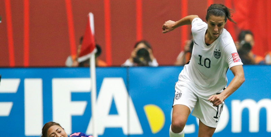 U.S. National Team's Carli Lloyd on the team's World Cup win and what it takes to achieve success.