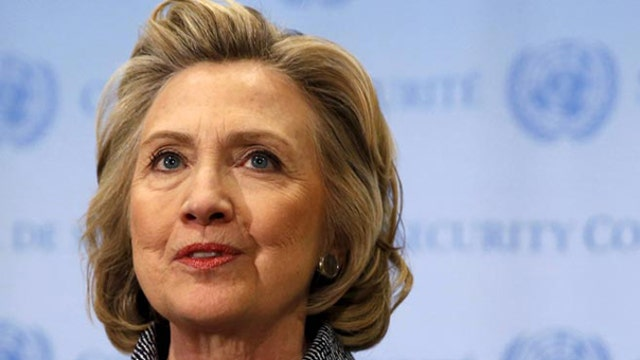 Hillary Clinton's campaign hurt by trust issues?