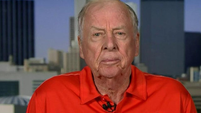 T. Boone Pickens: I'm not afraid of China