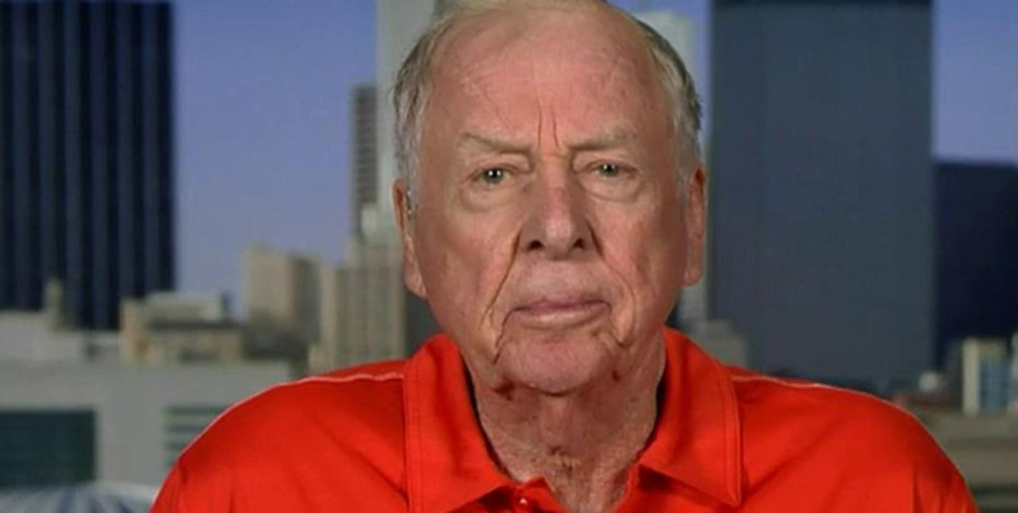 Oil and gas magnate T. Boone Pickens on oil prices and the 2016 election.