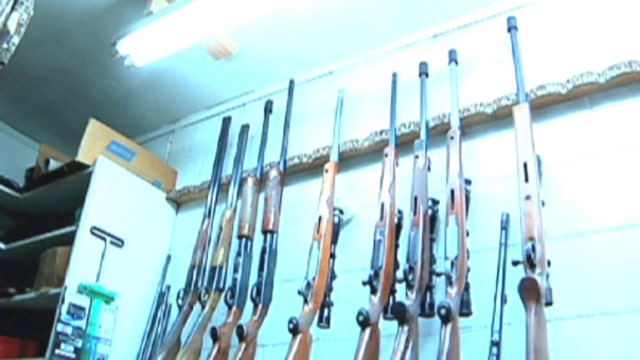 Aalia Shaheed visits a small business with custom-made rifles costing as much as $100,000.
