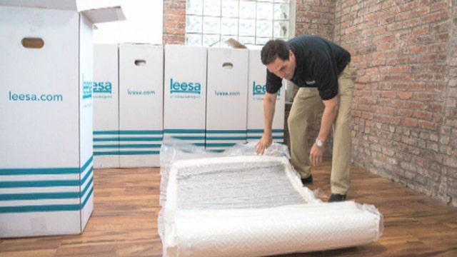 FBN's Charles Payne on the quick success of online luxury mattress startup Leesa.