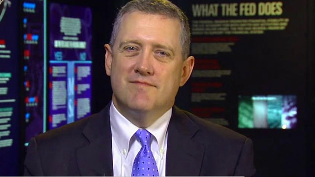 St. Louis Federal Reserve President James Bullard on the economy, the outlook for a potential interest rate hike and the changes to the Fed proposed in Congress.