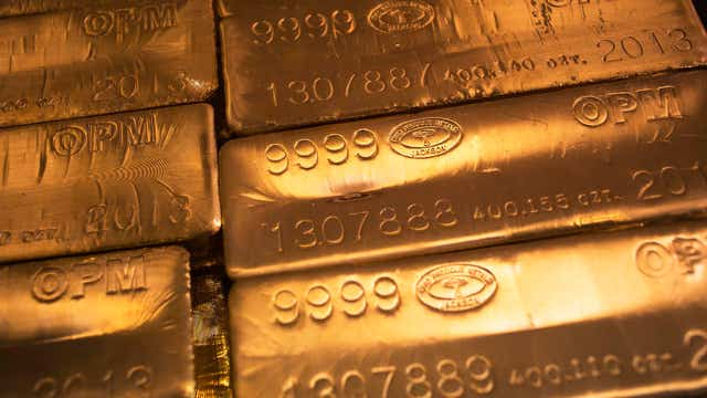 Gold losing its luster?