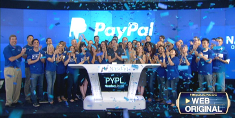 PayPal went public on the Nasdaq on Monday, after splitting from eBay. PayPal Senior Vice President Bill Ready on potential acquisitions and why they are a leader in cybersecurity.