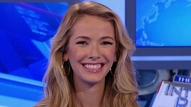 Miss USA Olivia Jordan with her take on Donald Trump and what it feels like to be crowned winner.