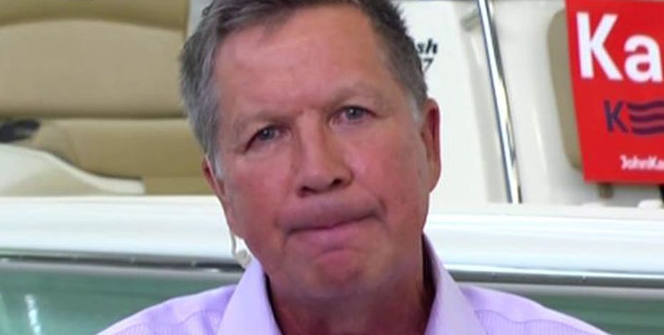 Governor John Kasich, (R-Ohio), discusses the Iran nuclear deal and Hillary Clinton's corporate tax plan.
