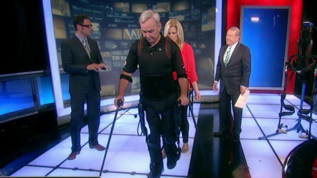 Walking again with the help of exoskeleton technology