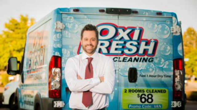 FBN's Charles Payne on the success of Oxi Fresh Carpet Cleaning and founder Jonathan Barnett.