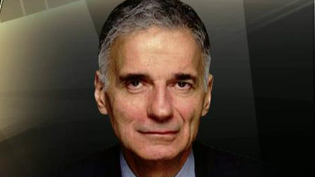 Four-time presidential candidate Ralph Nader weighs in on Donald Trump's 2016 presidential bid.