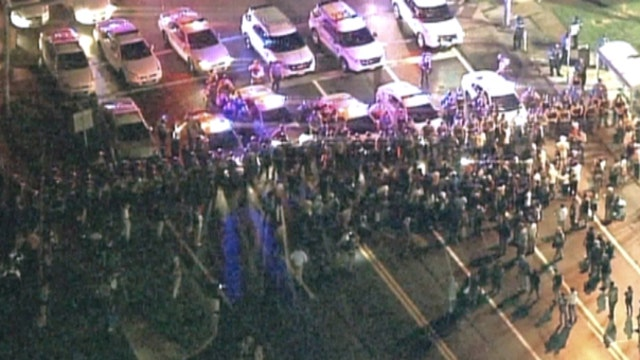 Shooting at Ferguson protest