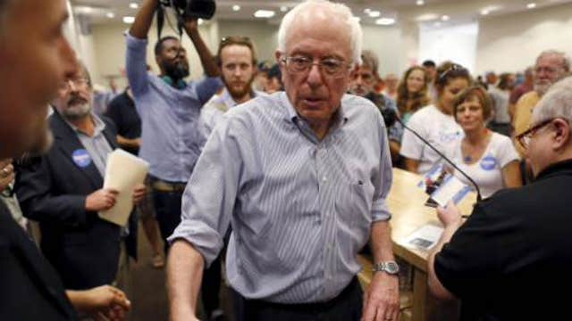 Poll: Bernie Sanders ahead of Hillary Clinton in New Hampshire