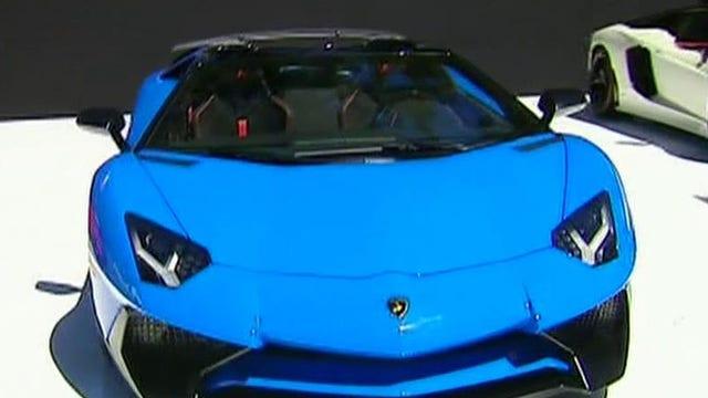 Car sexy super