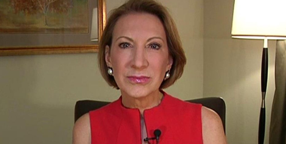 Republican presidential candidate Carly Fiorina on Hillary Clinton's email scandal, her career, leadership and challenging the status quo in Washington and ObamaCare.