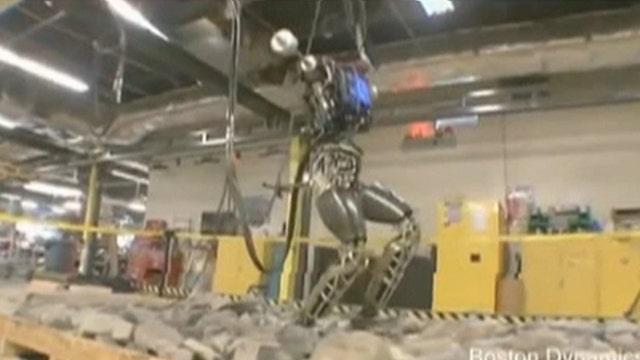 iRobot Co-Founder Helen Greiner on Google's new humanoid robot, 'Atlas.'