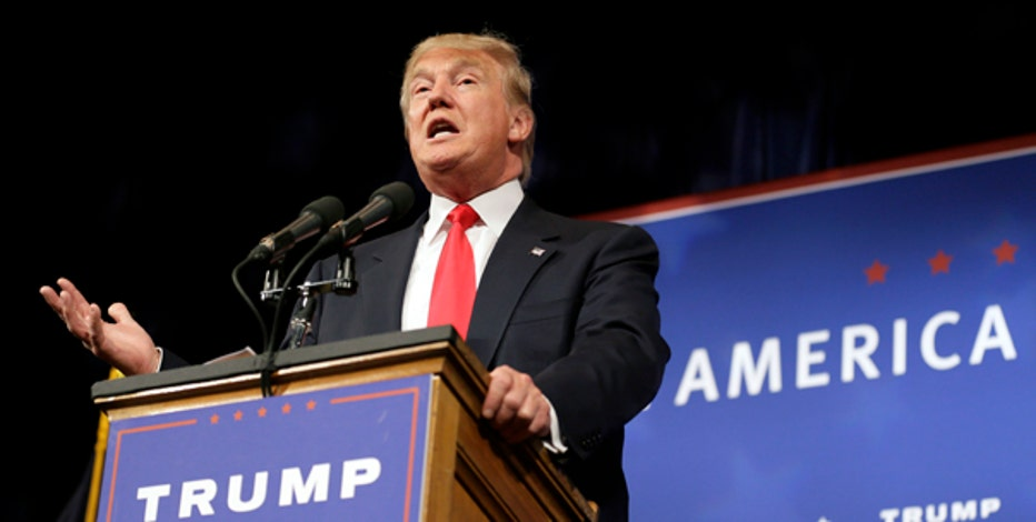 Republican presidential candidate Donald Trump on the Iran deal, involving business leaders such as Carl Icahn in his potential administration, U.S. foreign policy and immigration.