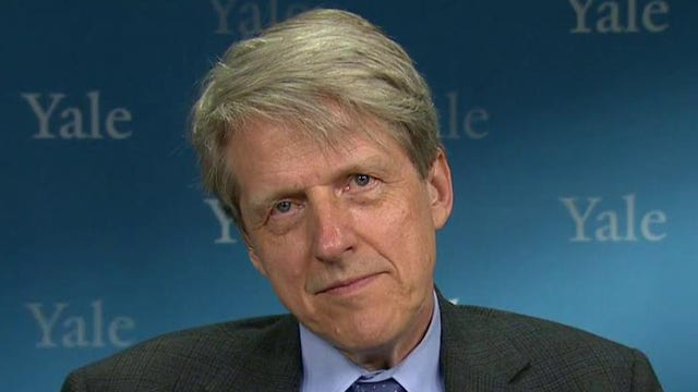 Yale University economics professor Robert Shiller argues all three major asset classes are overvalued.