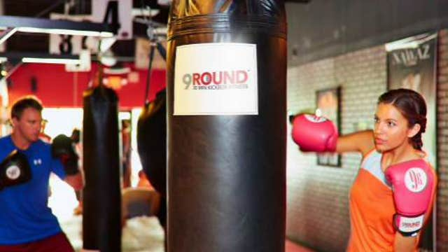 FBN's Charles Payne on 9Round and founder Shannon Hudson.