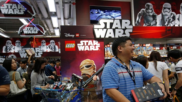 The frenzy over 'Star Wars' toys