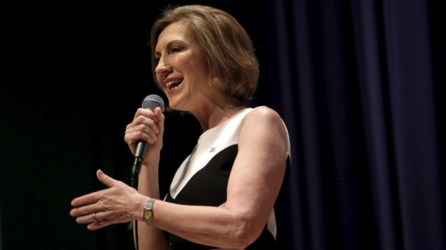 Republican presidential candidate Carly Fiorina on Chinese President Xi Jinping's visit to the U.S.