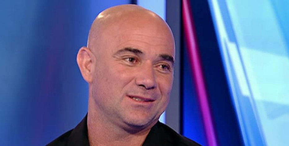 Eight-time grand slam winner Andre Agassi on today's tennis stars.