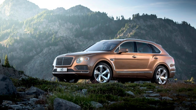 Bentley unveils new luxury SUV for $229K