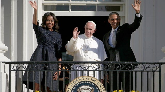 Pope climate change comments tied to Democrats?