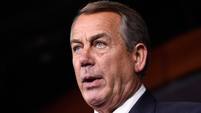 Boehner shocks Washington by stepping down as House Speaker