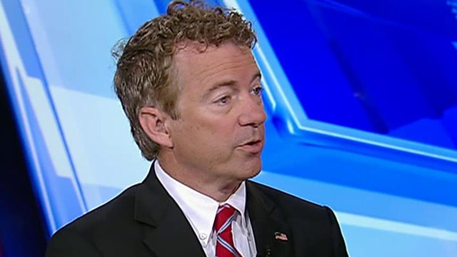 Rep. Rand Paul on Donald Trump and John Boehner's resignation.