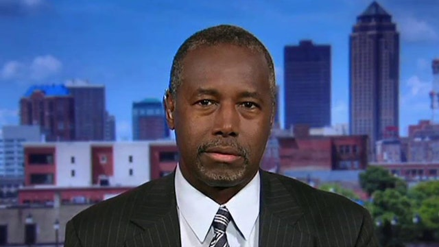 2016 Presidential candidate Dr. Ben Carson discusses how he would handle Russian President Vladimir Putin.