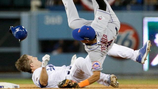 Former N.Y. Mets Pitcher Ron Darling on L.A. Dodgers' Chase Utley's slide that broke the leg of N.Y. Mets' Ruben Tejada.