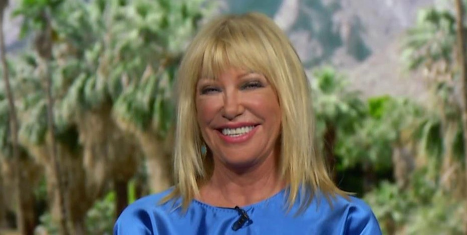 Actress Suzanne Somers discusses big government's involvement in health and Playboy's decision to stop publishing nude photos.