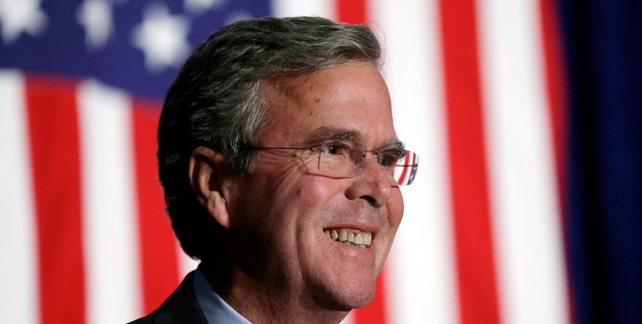 GOP presidential candidate Jeb Bush argues the economy, not climate change should be a priority for the next president.