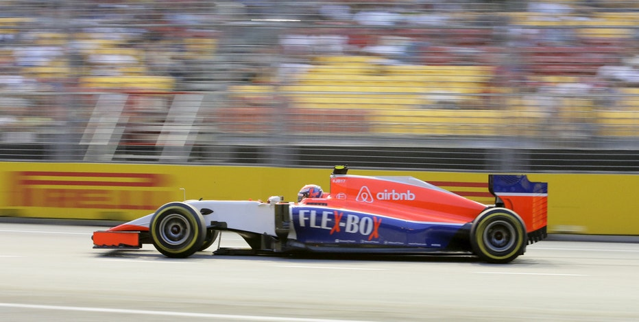 Formula 1 driver Alexander Rossi on using crowdfunding to finance his racing team.