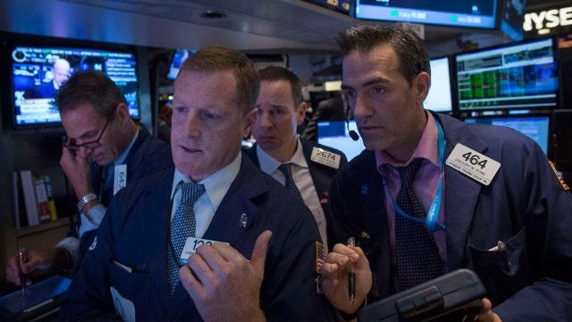 Stocks end lower, Dow snaps three-day winning streak
