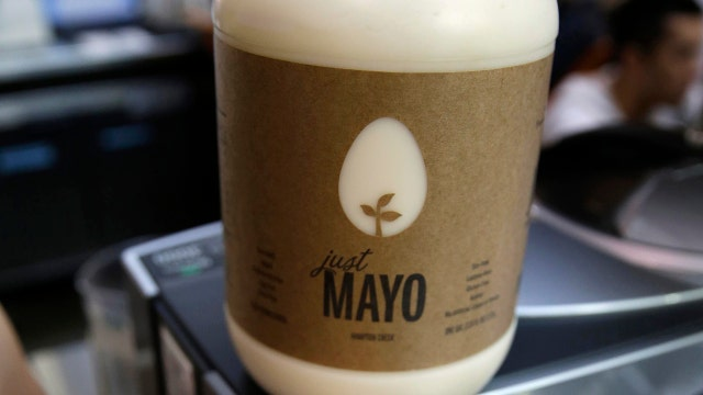 Hampton Creek CEO Josh Tetrick on the American Egg Board targeting the company's 'Just Mayo' brand.