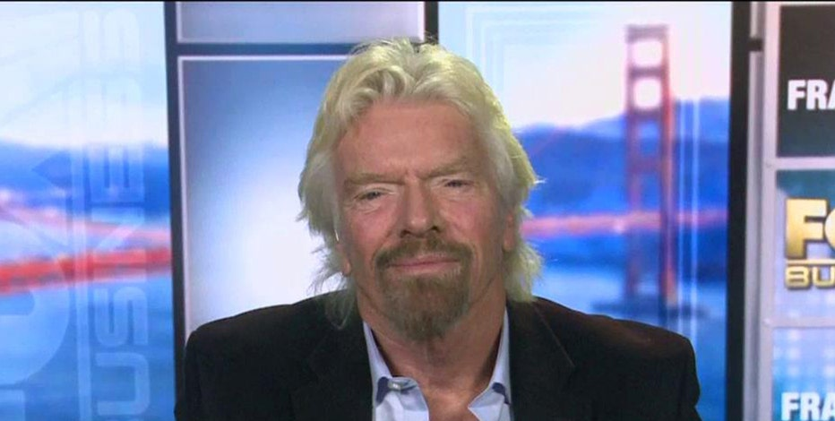 Virgin Group Founder Sir Richard Branson on Virgin America's service to Hawaii, the airline industry and the U.S. economy.