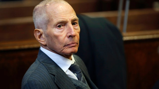 'Justice with Judge Jeanine' host Jeanine Pirro on the allegations against real estate mogul Robert Durst.